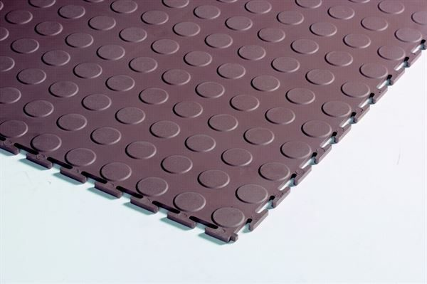 Plastiflor Medallion interlocking round stud tiles