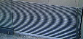 bufferzone aluminium entrance matting