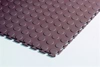 Plastiflor Round Stud Brown