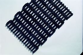 Superlink recycled rubber steel linked mat
