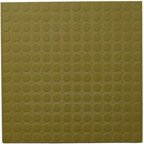 Solo Olive Yellow Rubber Tiles