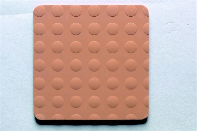K6 Brown (Friction) rubber tiles