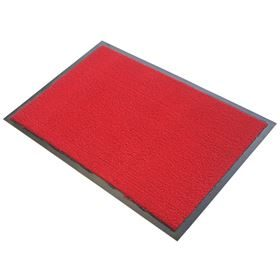 Looper Solid Red Barrier Mats